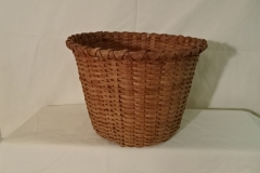 "#133 Antique Handmade Basket - 11"" w x 8 3/4"" h - $35"
