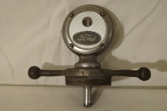 Antique Model A Ford Radiator Cap / Thermometer 1 of 2
