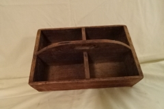 "Antique Wooden Collection Box - 14"" x 9"" x  4 1/4"""