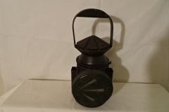 "Marker Lantern (rotating arrow) ""Wakefields Birmingham 1945 ^"" - 9"" h"